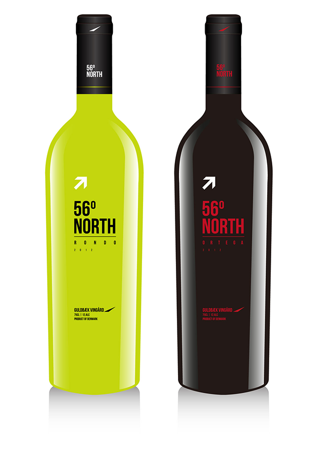 50 eye-catching wine labels by 99designers