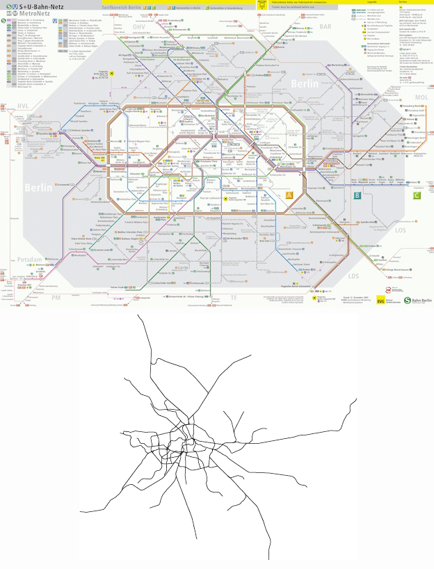 Berlin Subway Map Poster.Massive Impact Design In The World S Subway Maps