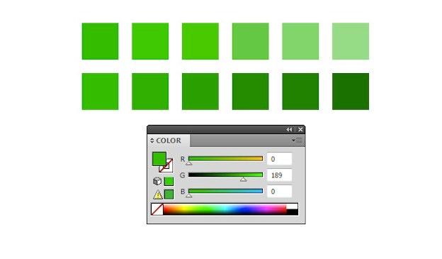 Adobe Illustratorで適切な色を取得する方法