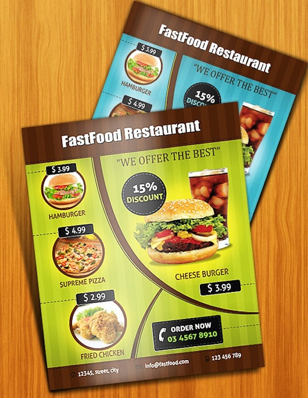 free restaurant menu templates for mac - top 30 graphic design tutorials the creative edge