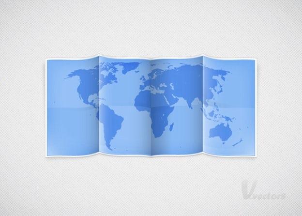シンプルな地図イラストを作ろう