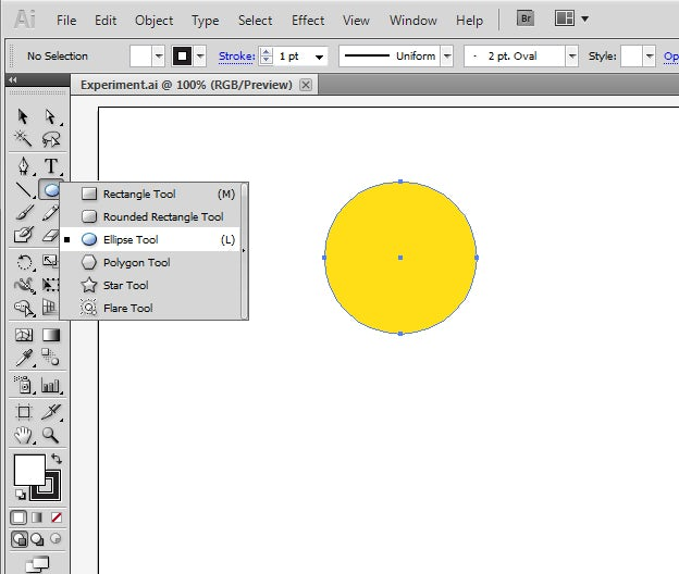 Create abstract shapes using Illustrator Blend Modes