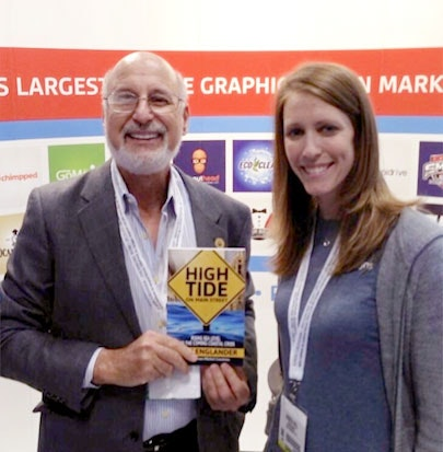 John Englander with 99designs' Jessica Hill