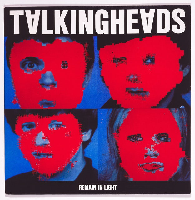 Album Cover, Talking Heads:  Remain in Light, 1980
