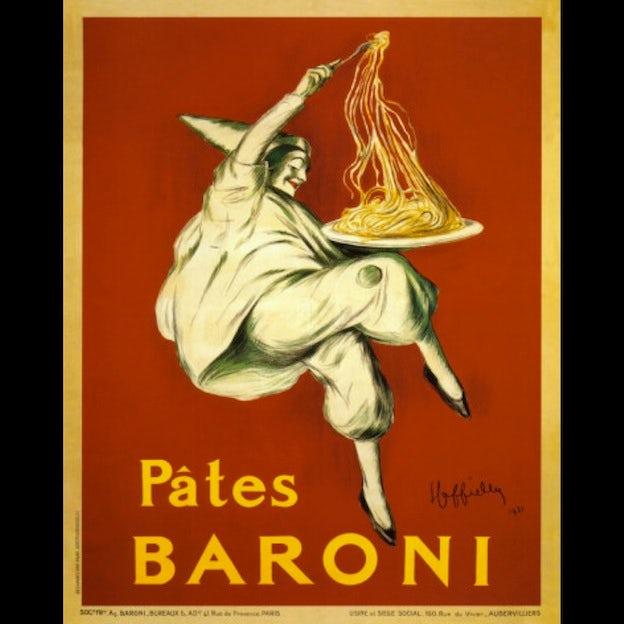 Pates Baroni, 1921: Leonetto Cappiello