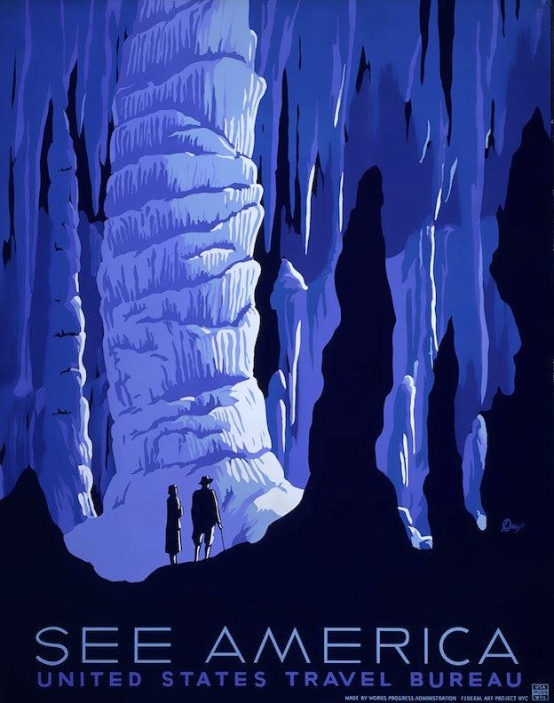 US Tourism posters