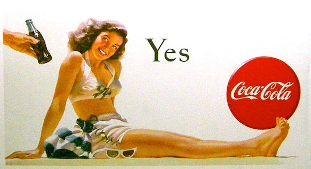 Coca-Cola famous poster