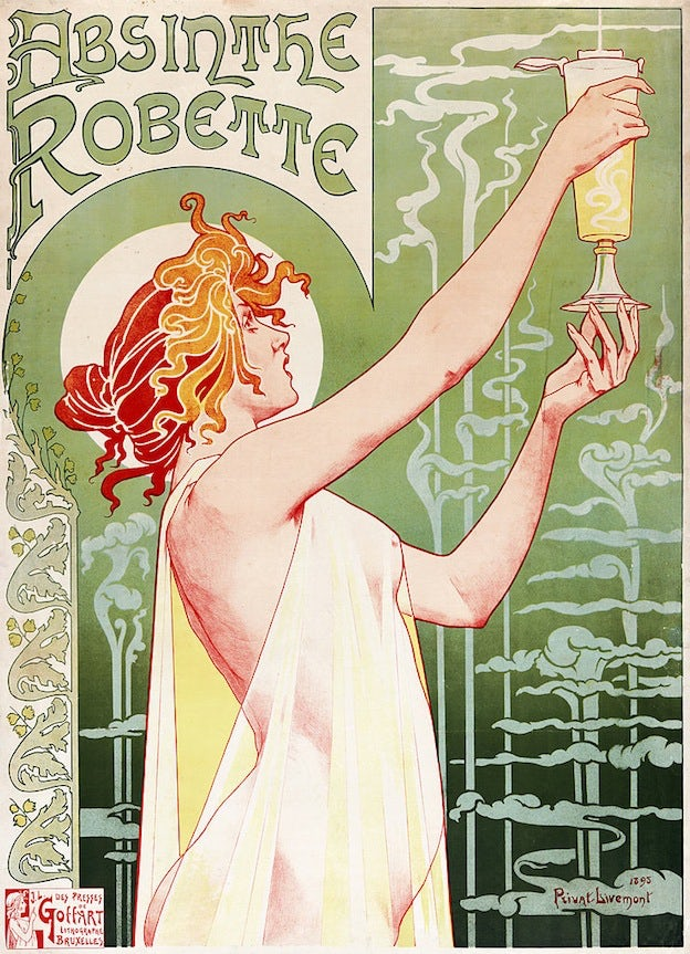 absinthe famous poster