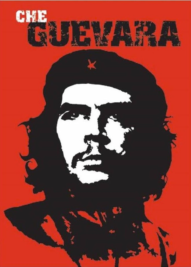 Che Guevara Red by Jim Fitzpatrick