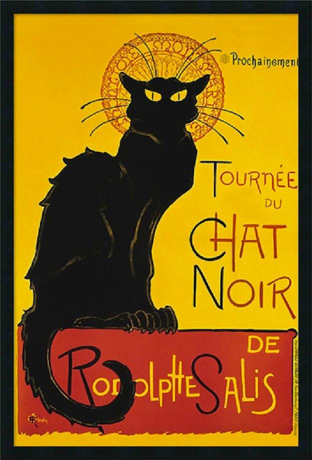 """""""Le Chat Noir"""" famous poster"""