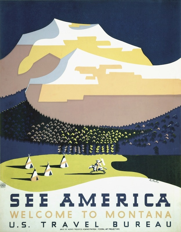 US Tourism Poster