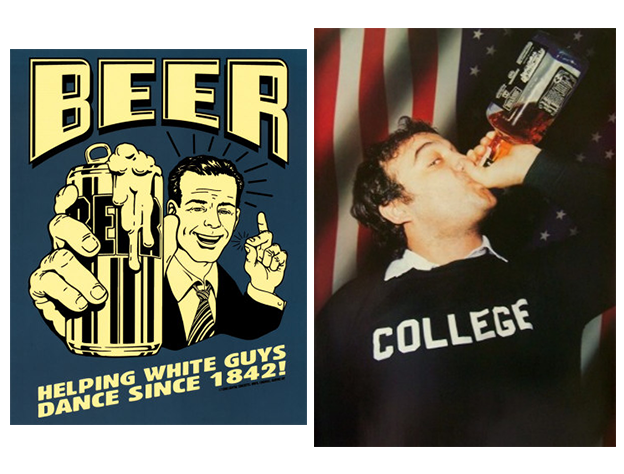 famous beer poster