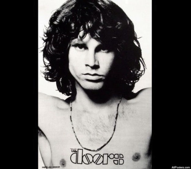 The Doors famous poster