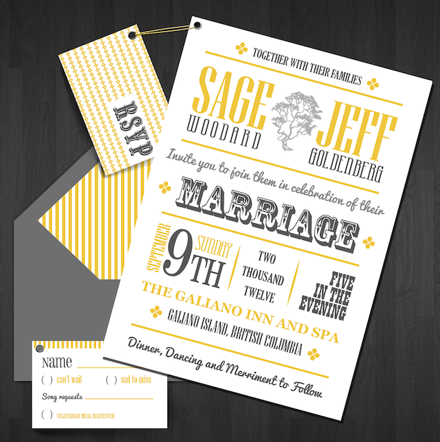 Getting hitched Get unique wedding invitation ideas and designs here
