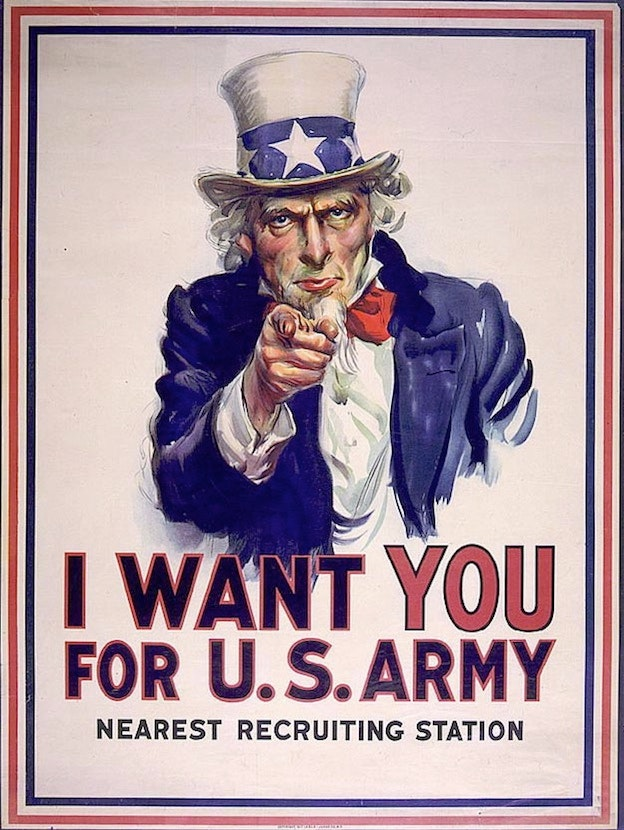 US Army Recruitment poster