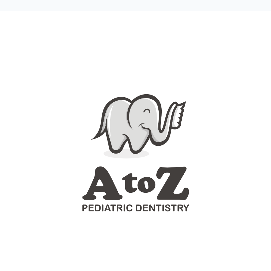 elephant toothbrush pediatric dentist logo