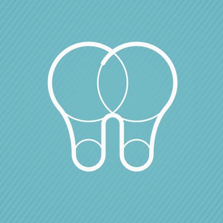 Alders Mondzorg light bulb tooth dental logo