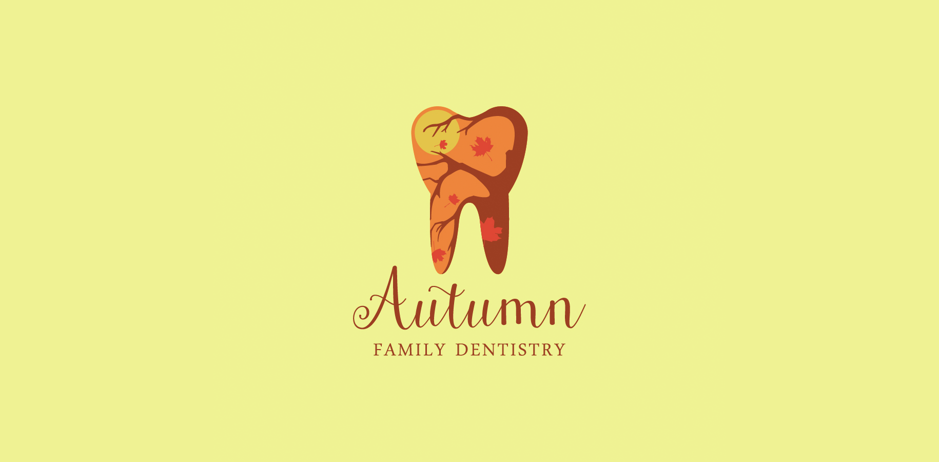 autumn family dentistry logo