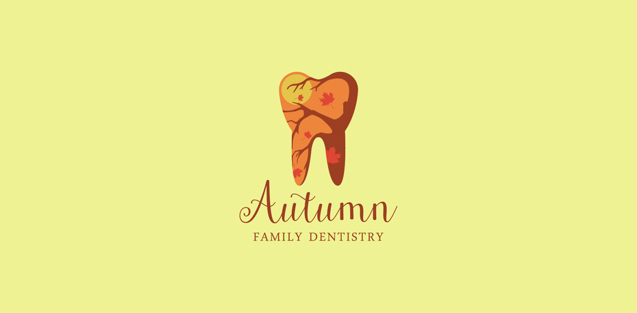 autumn family dentist logo