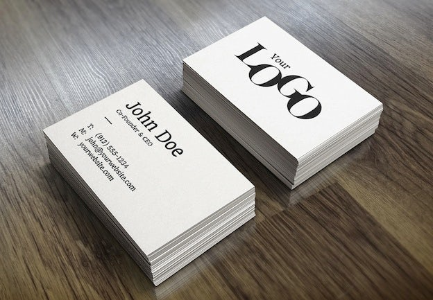 Creating professional design mock ups the creative edge businesscard you can do this by using a combination of your own photosimages and editing them in photoshop the tutorial above explains how to use your reheart Images