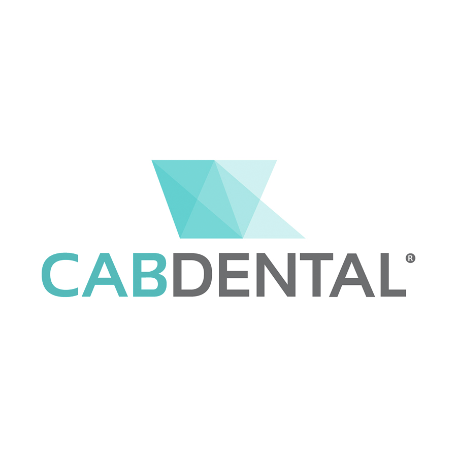 modern geometric dental logo