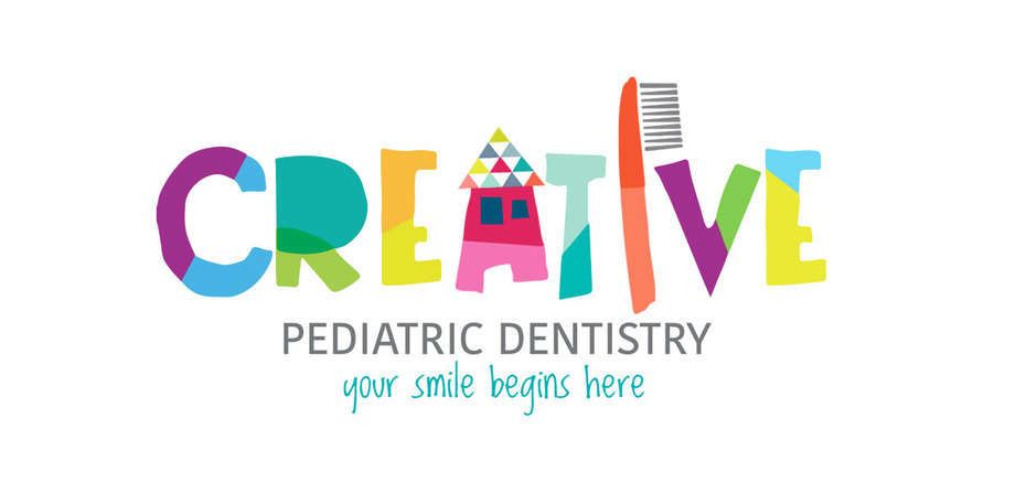 creative pediatric dentist logo