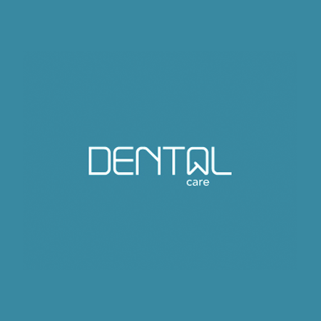 wordmark dental logo