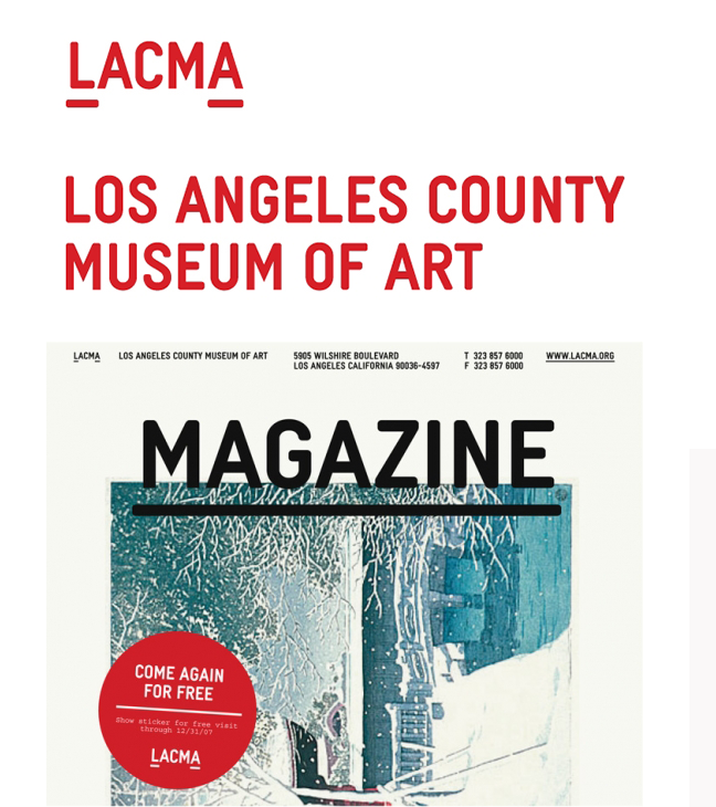 lacma logo design