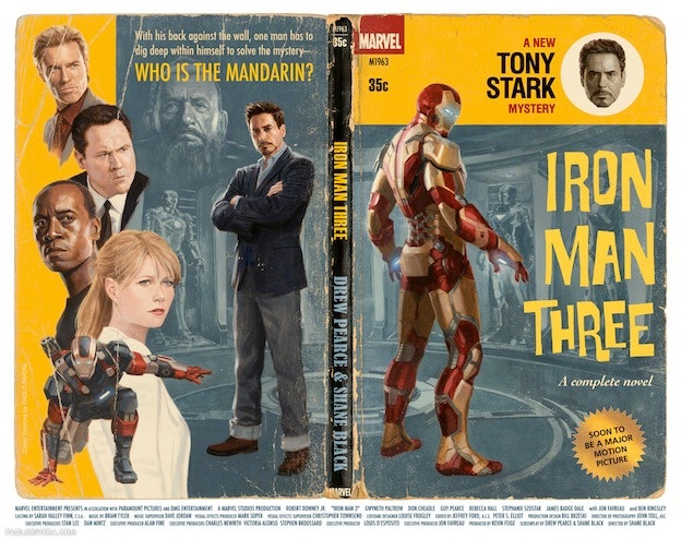 comic book cover Iron Man