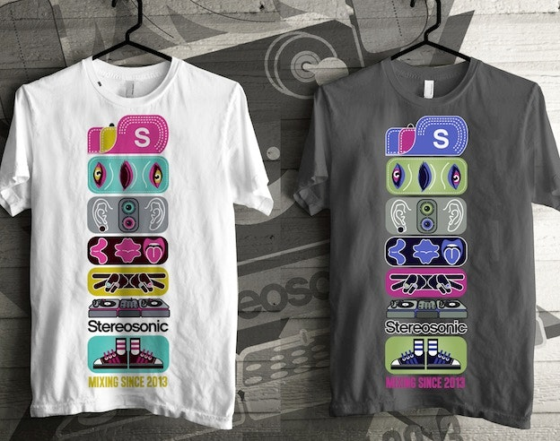 Stereosonic T-shirt Design Contest 3