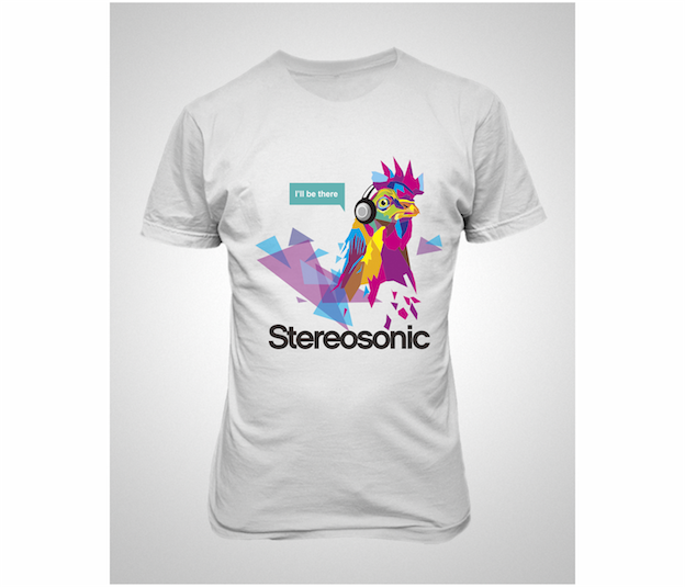 Stereosonic T-shirt Design Contest 5