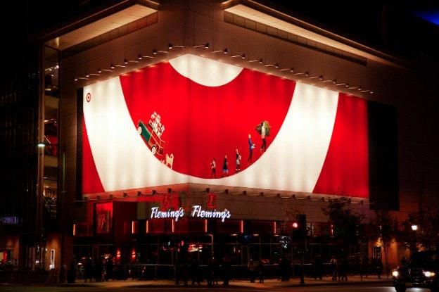 Target logo billboard