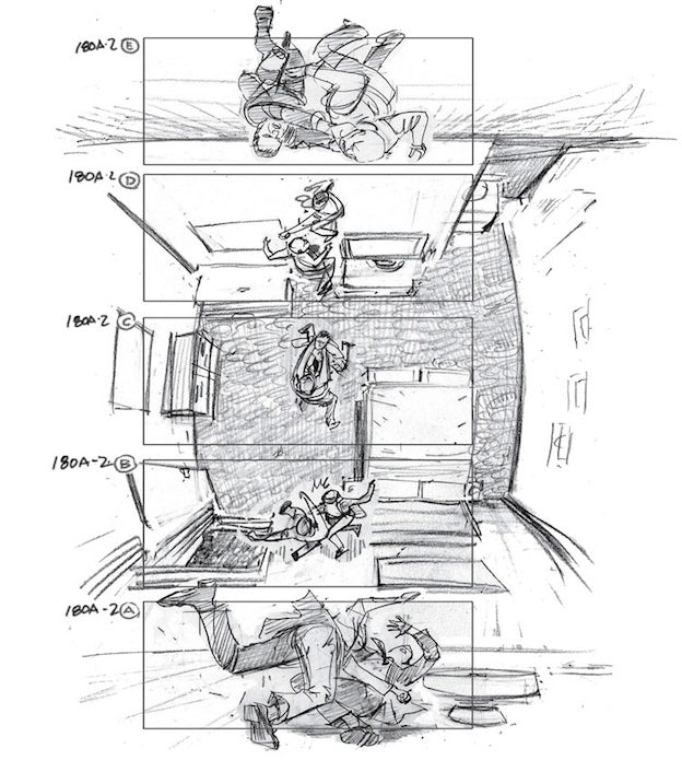 From sketch to spectacle: famous movie storyboards