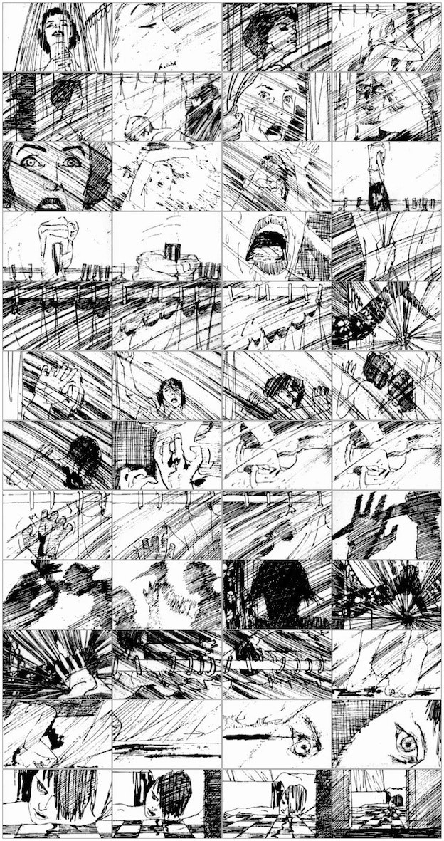 From Sketch To Spectacle Famous Movie Storyboards  Designer Blog