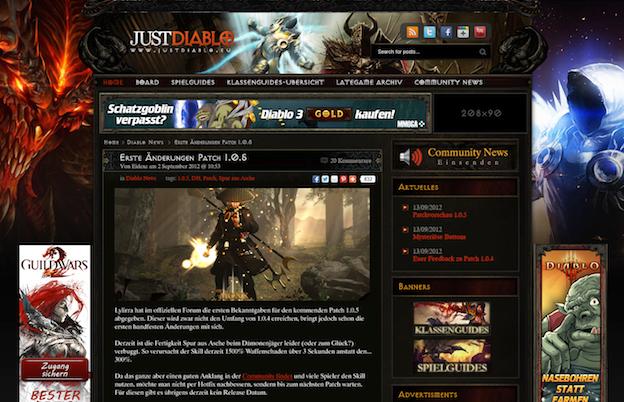 Diablo blog