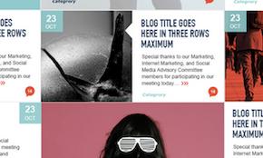11 unique blogs created on 99designs