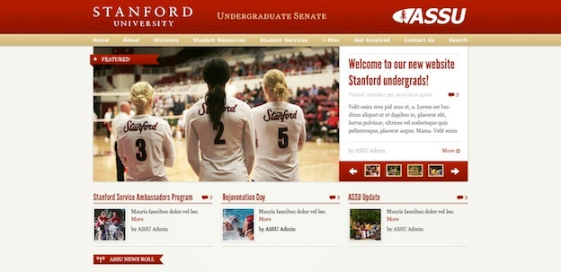 blog design Stanford blog