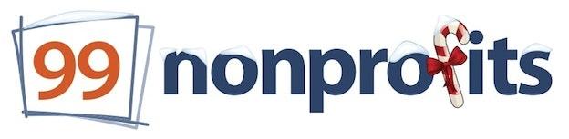 99nonprofits holiday logo
