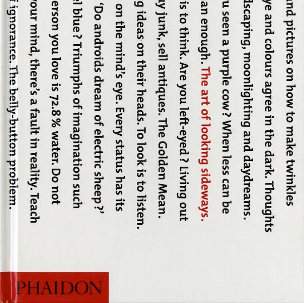 Top 9 at 99 Prize: The Art of Looking Sideways, by Alan Fletcher
