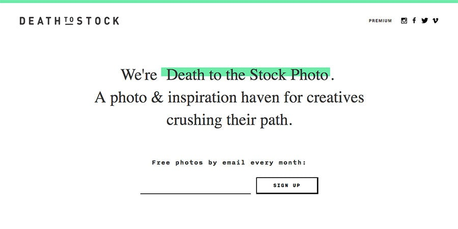 death to stock photo