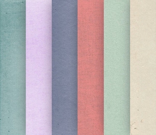 design words: muted color