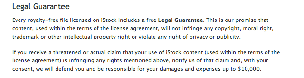legal guarantee