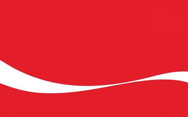 minimalist design - Coca Cola