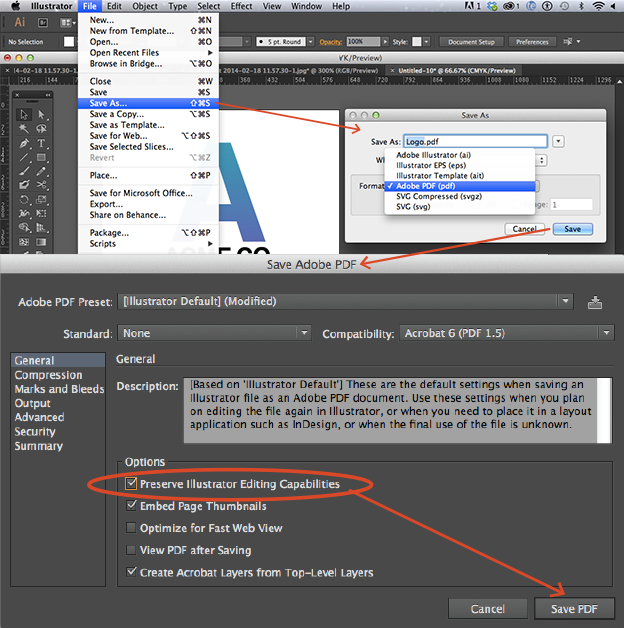change file size in adobe illustrator