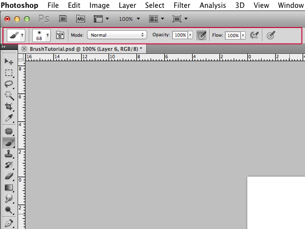how to open toolbar in photoshop