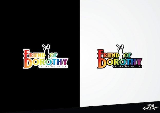 Logo for 'Friend of Dorothy'