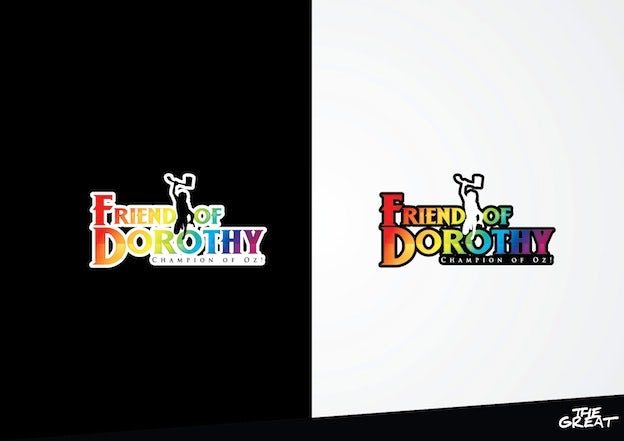 Logo for 'Friend of Dorothy'