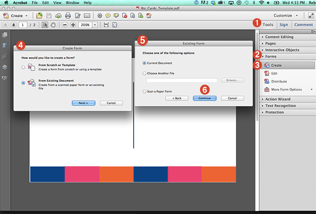 Acrobat (.pdf) adobe document