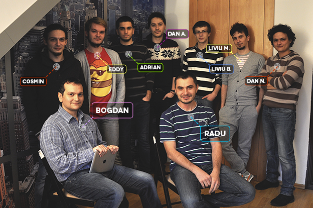The e-jump team