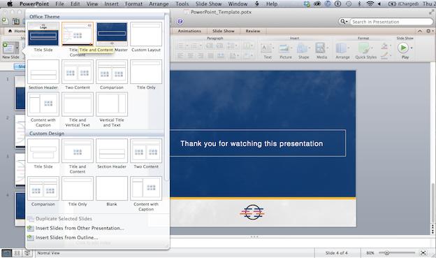 create a custom powerpoint template the creative edge